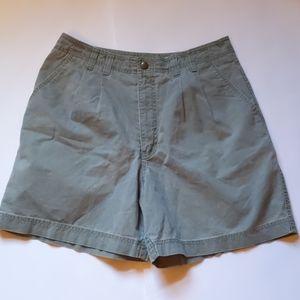Royal Robbins green shorts-sz 8